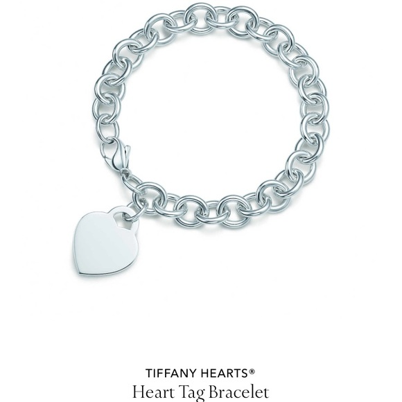 522c61708521e3 Tiffany & Co. Jewelry | Tiffany Co Heart Tag Charm Bracelet | Poshmark